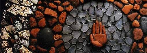 Close Up: Hand Plate Mosaic
