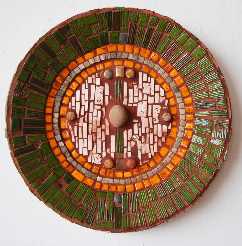 Green Stone Mosaic