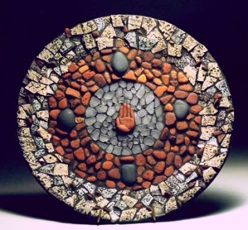 Hand Plate Mosaic