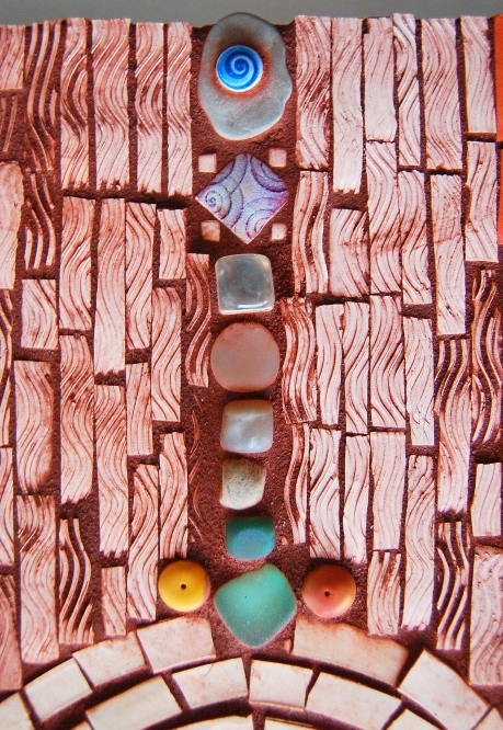 Detail Arches Mosaic
