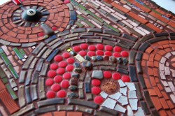 Detail: 8Ball Mosaic