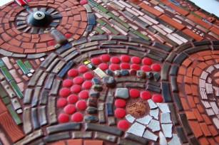 Detail: 8Ball Mosaic