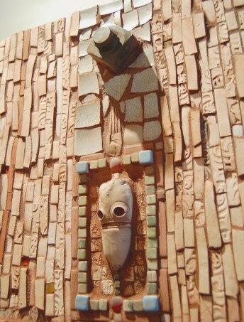 Detail: Skull Mosaic