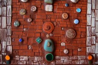 4 Faces Mosaic detail 1