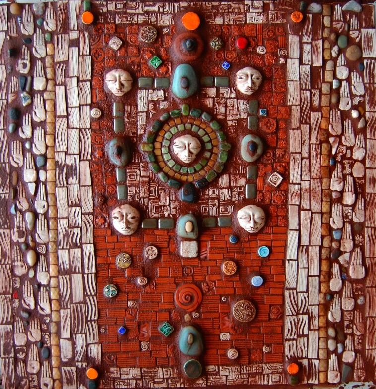 4 Faces Mosaic