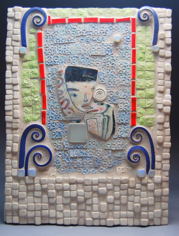 Made with tiles by Kevin Snipes!