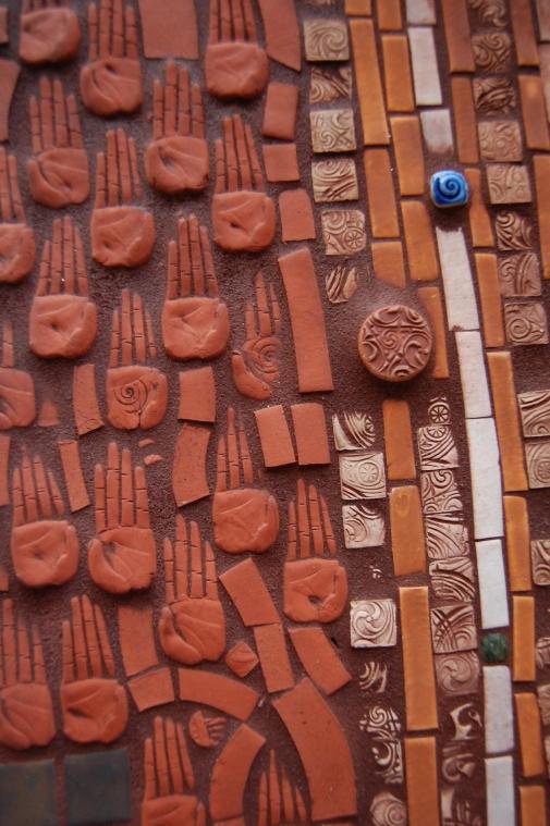 Circle Mosaic Detail 1